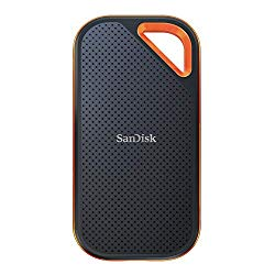 SanDisk 1TB Extreme PRO Portable External SSD – Up to 1050MB/s – USB-C, USB 3.1 – SDSSDE80-1T00-A25