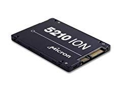 Micron 5200 5210 ION 3.84 TB Solid State Drive, SATA 6 Gb/s, 2.5″ Drive, Read Intensive, 0.8 DWPD, Internal, 540 MB/s Max Read, 350 MB/s Max Write