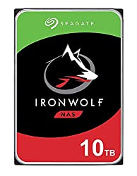 Seagate IronWolf 10TB NAS Internal Hard Drive HDD – 3.5 Inch SATA 6Gb/s 7200 RPM 256MB Cache RAID Network Attached Storage Home Servers – Newest Model (ST10000VN0008)